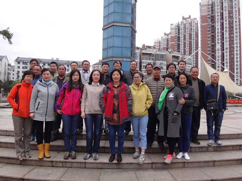 市場物業公司工會組織徒步活動